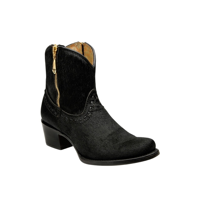 Women's Cuadra Short Boot 2F12CT - Black