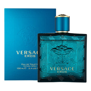 VERSACE EROS 100 ML - 3.4 FL. OZ.