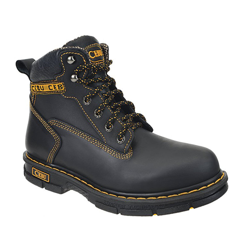 Cebu Work Boot Borce Max (BMX) - Black