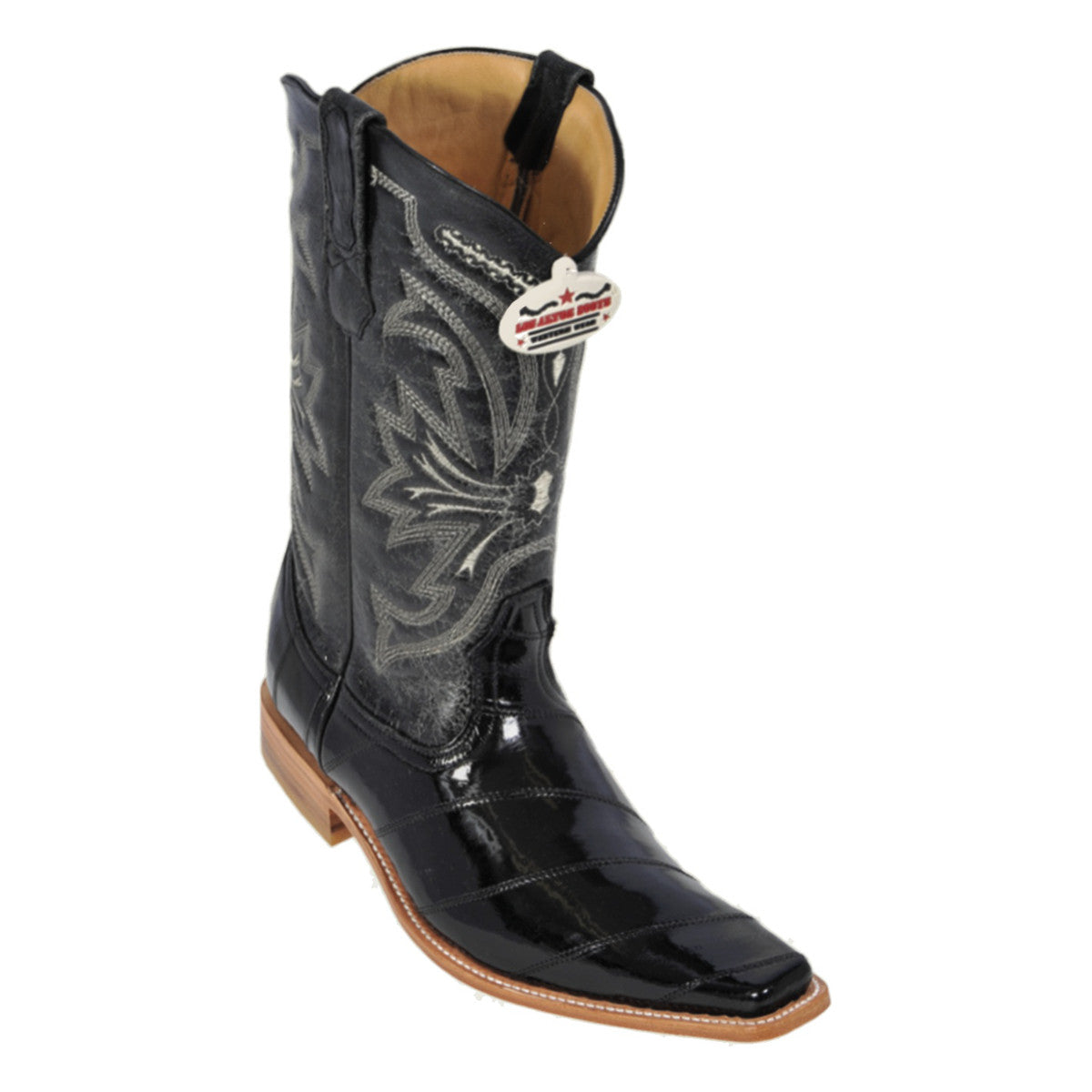 Los Altos Boots Narrow Square Toe EEL