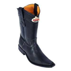 Los Altos Boots Narrow Square Toe Elk