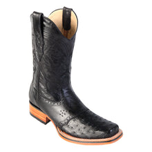 Load image into Gallery viewer, Los Altos Boots Rodeo Boot Ostrich w/Saddle