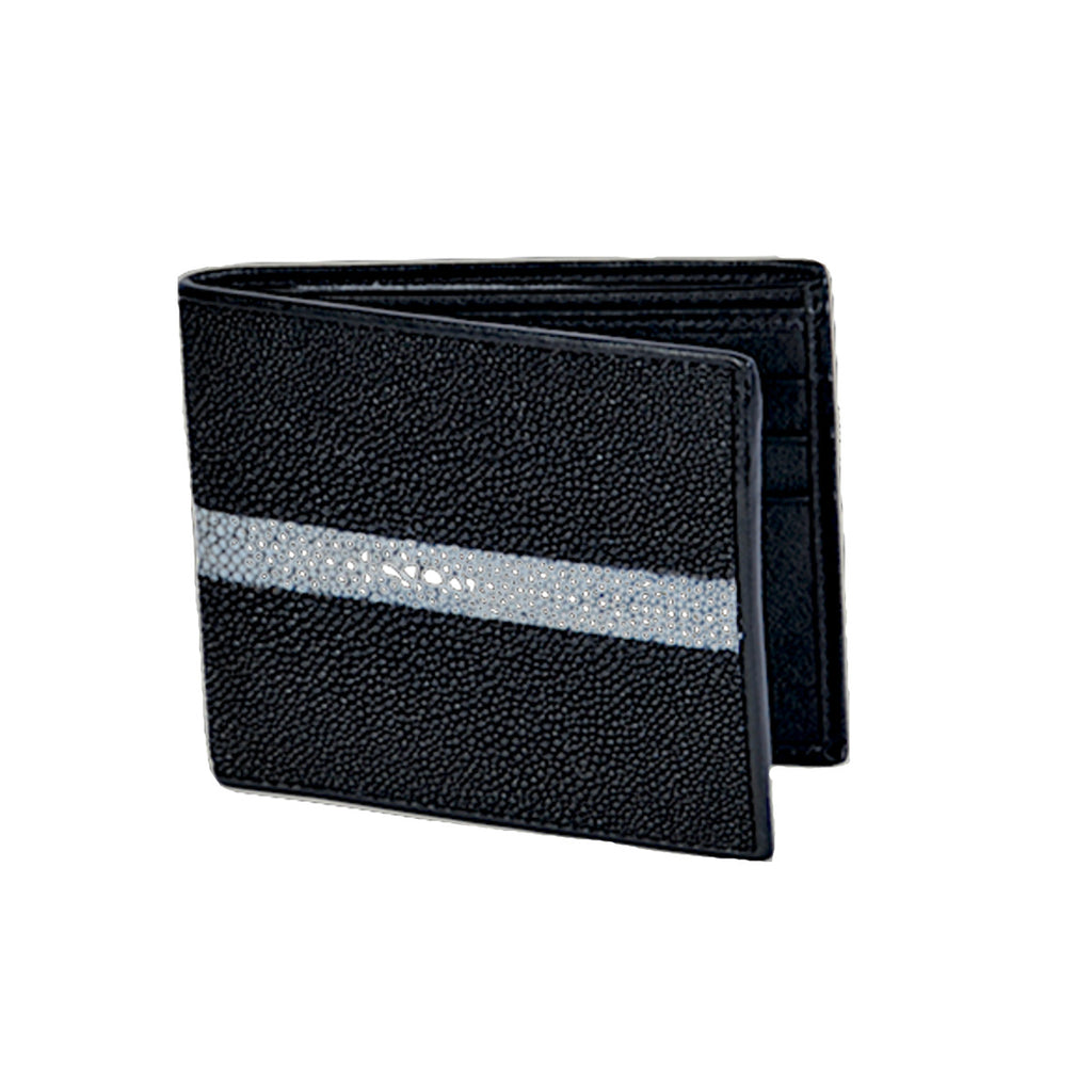 Los Altos Boots Stingray Rowstone Finish Wallet
