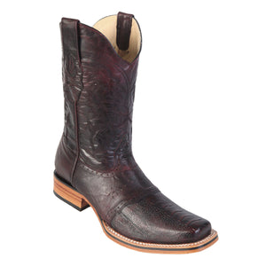 Los Altos Boots Rodeo Boot Ostrich Leg w/Saddle