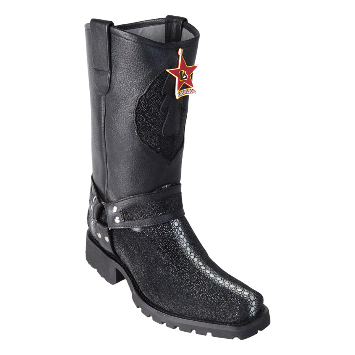 Los Altos Boots Biker Boot Stingray Rowstone