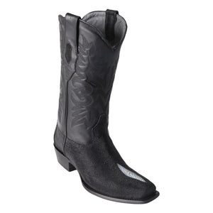 Los Altos Boots 7-Toe Stingray Single Stone