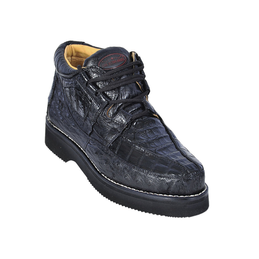 Los Altos Boots Casual Shoes Caiman w/Ostrich