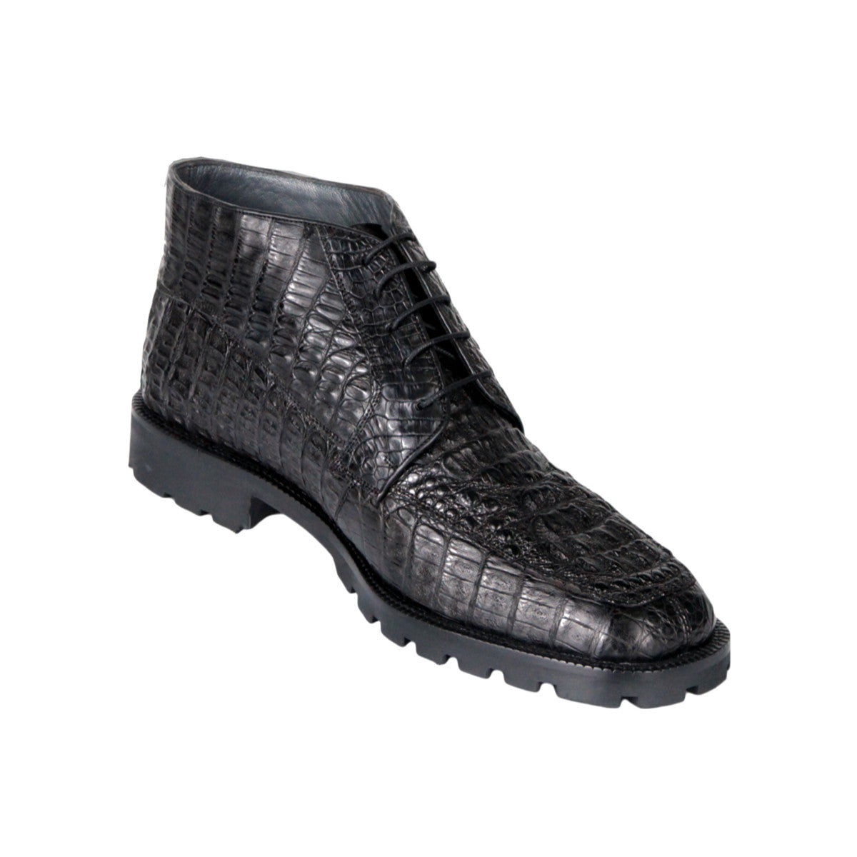 Los Altos Boots High Top Shoes Caiman Hornback