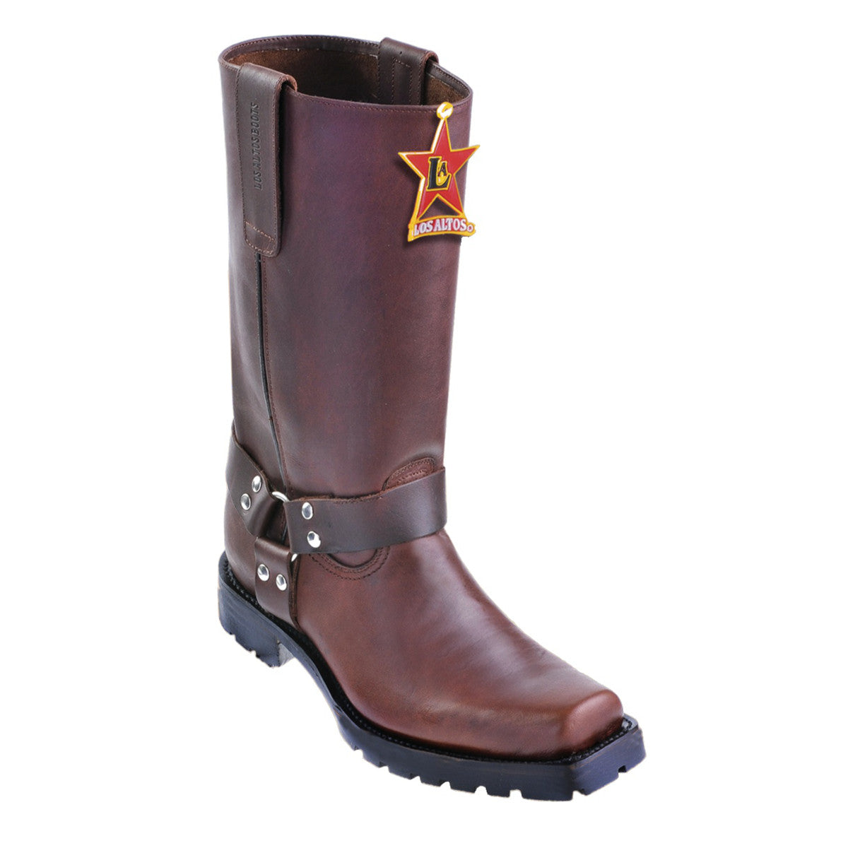 Los Altos Boots Motorcycle Boots Square Toe
