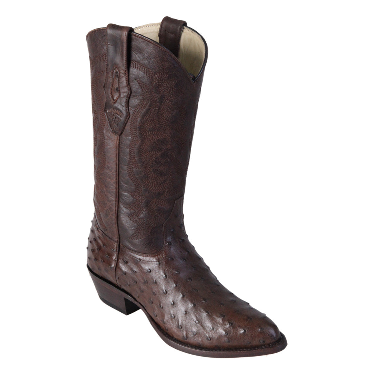 Los Altos Boots Medium R-Toe Ostrich