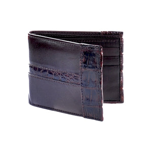 Los Altos Boots Leather w/Caiman Belly Wallet