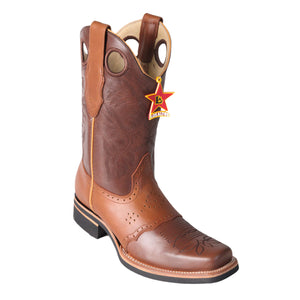 Los Altos Boots Rodeo Boot w/Saddle