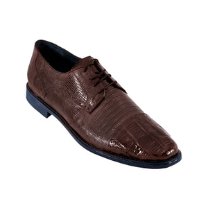 Los Altos Boots Dress Shoes Caiman Belly w/Lizard