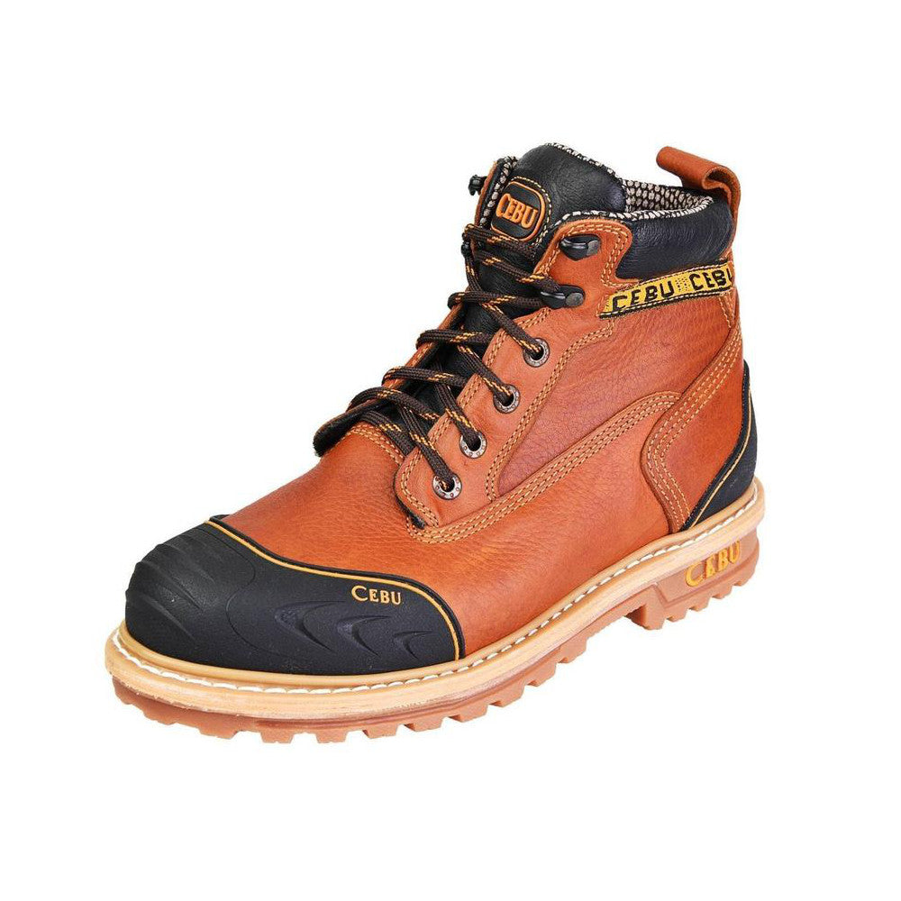 Cebu Work Boot TK Borce Shark - Ambar Miel