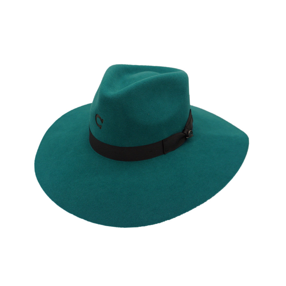 "Charlie Horse Women's Hat ""Highway"" - Teal"