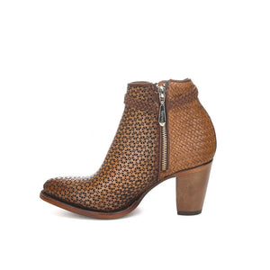 Women's Cuadra Short Boot 3F17SL - Camel
