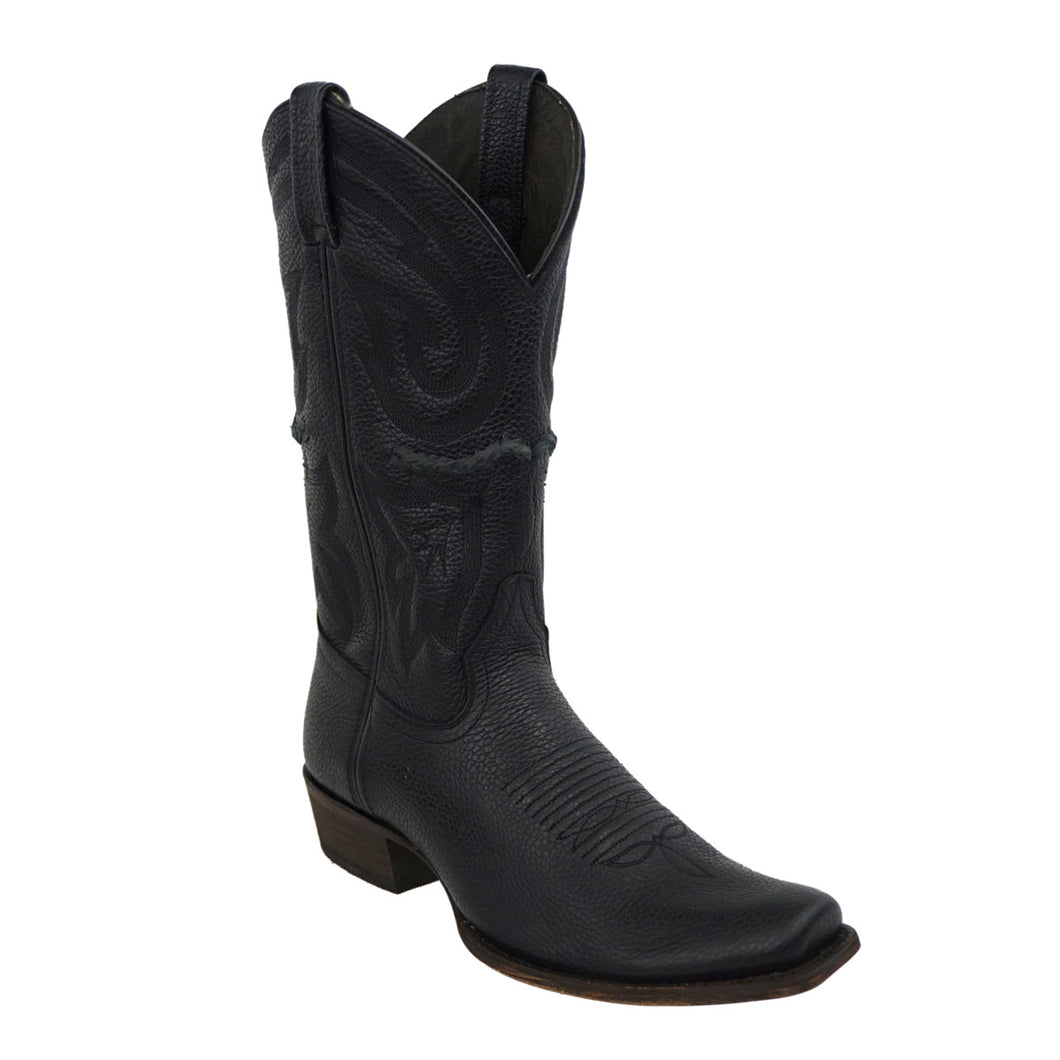 Caborca Boots HAB032 D A/VIN Grizzly - Black