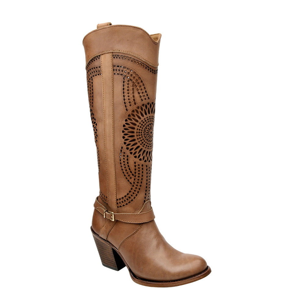 Women's Cuadra Tall Boot 1Z27SS - Taupe