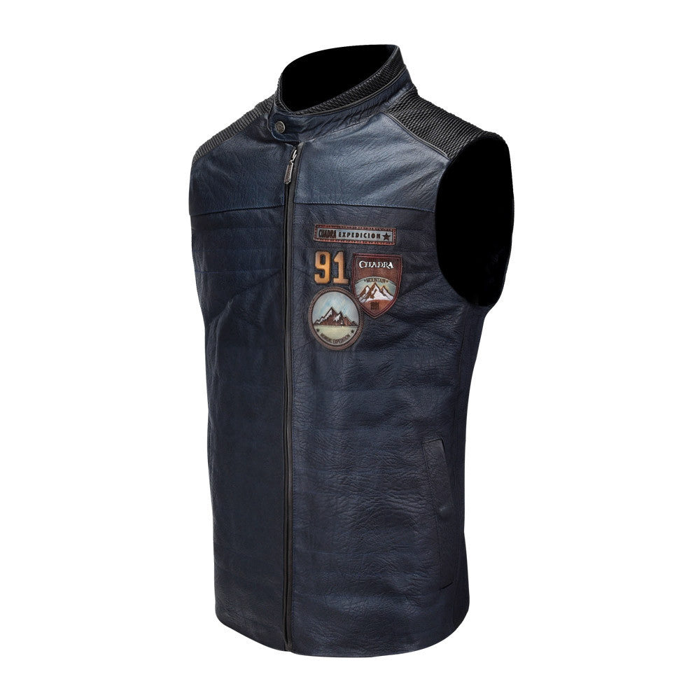 Men's Cuadra Blue Vest