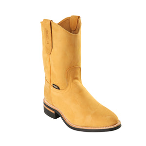Original Michel H52C Men's Work Boot - Nobuck Honey