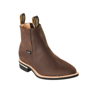 Original Michel H64C Work Boot - Nobuck Dark Tobacco