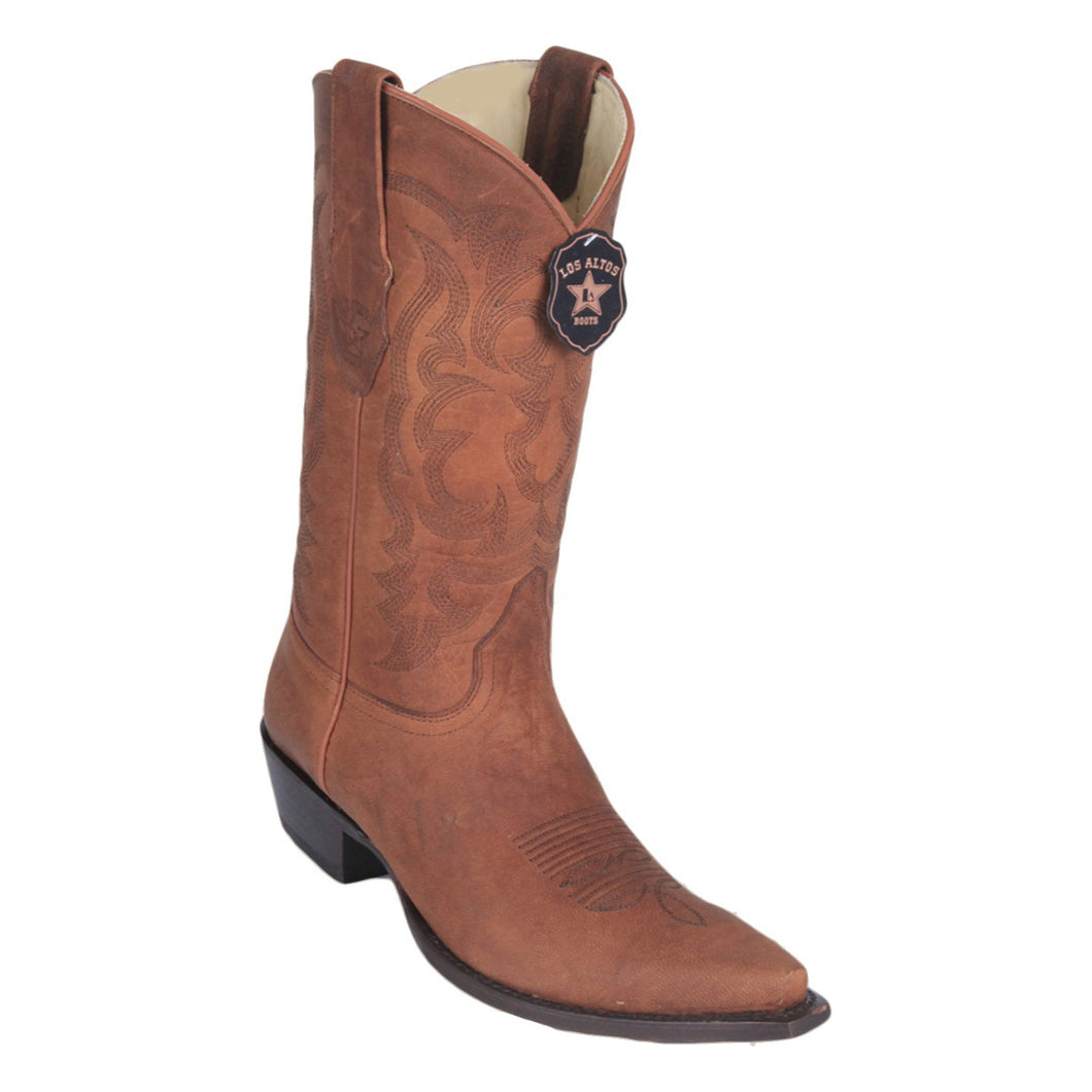Los Altos Boots H94 Snip Toe Mad Dog - Honey