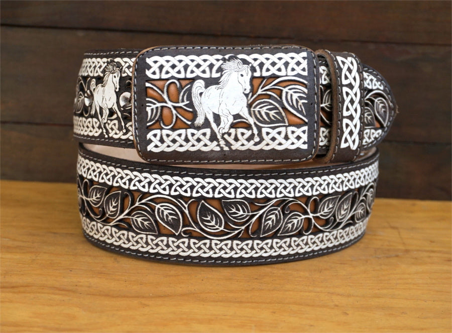 Men's Lazer Cut Belt