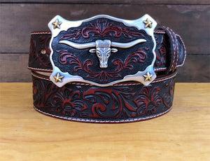 Justin Men's Longhorn Belt