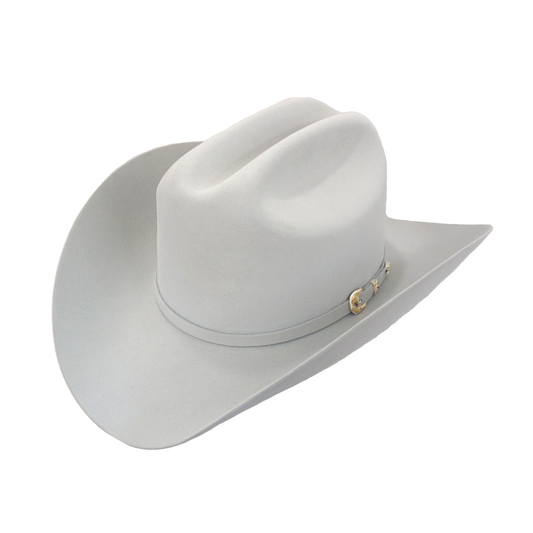 Larry Mahan's 6x Real Felt Hat - Platinum