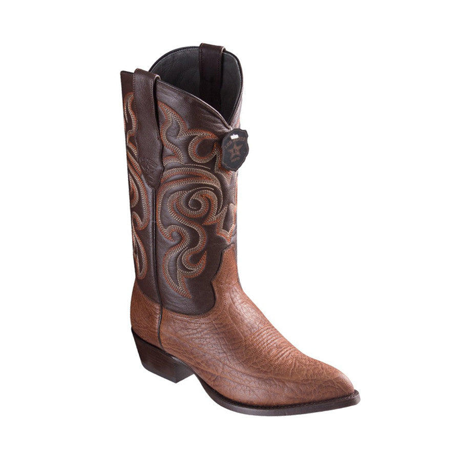 Los Altos Boots J-Toe Bull Shoulder Brown