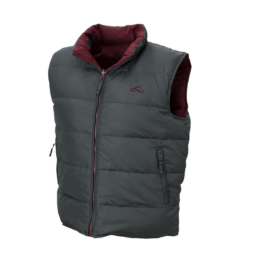 Resistol Men's 2-Sided Down Vest