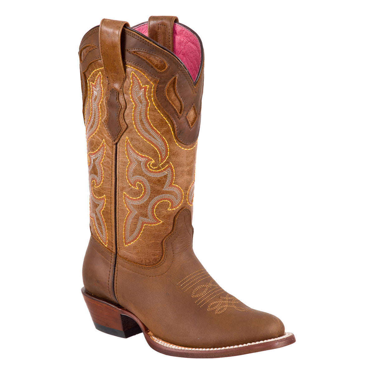 Potro Rebelde Women's Oval Toe Boots