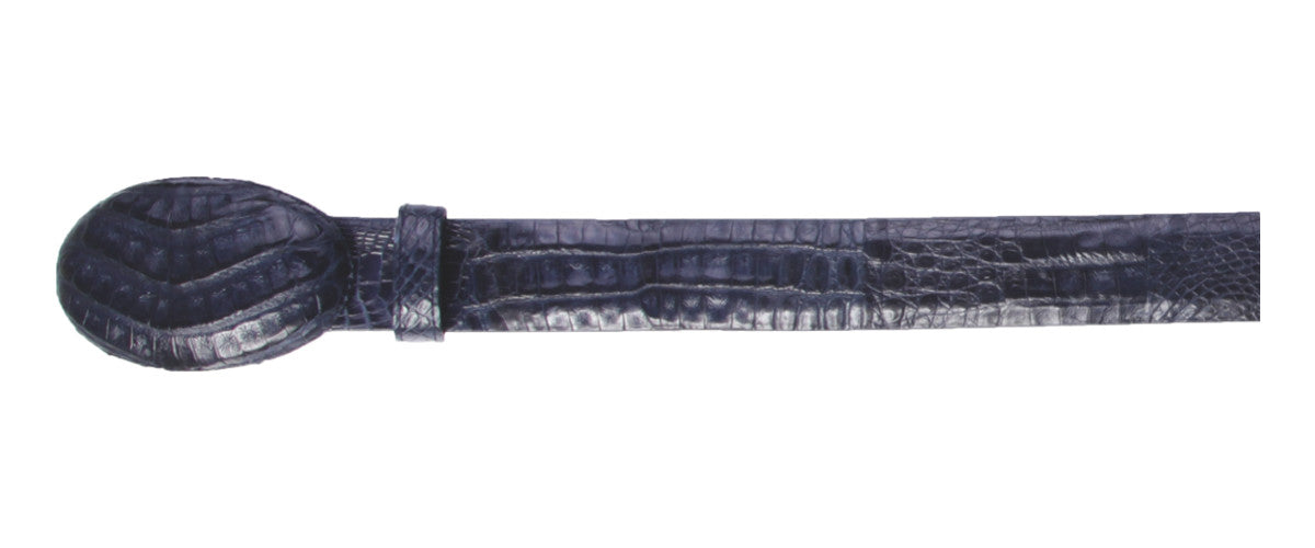 Los Altos Boots Caiman Belly Cowboy Belt
