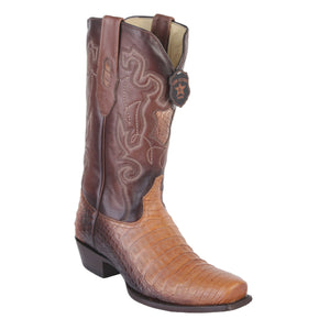 Los Altos Boots 7-Toe Caiman Belly