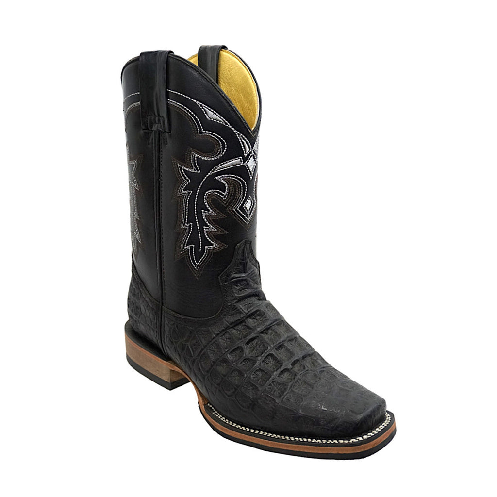 Potro Rebelde Rodeo Boot Alligator-Print