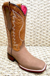 Women's Quincy Wide Square Toe 322A6231 - Crazy Tan