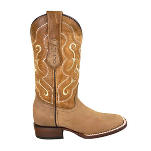 Women's Quincy Wide Square Toe 3226231 - Crazy Tan