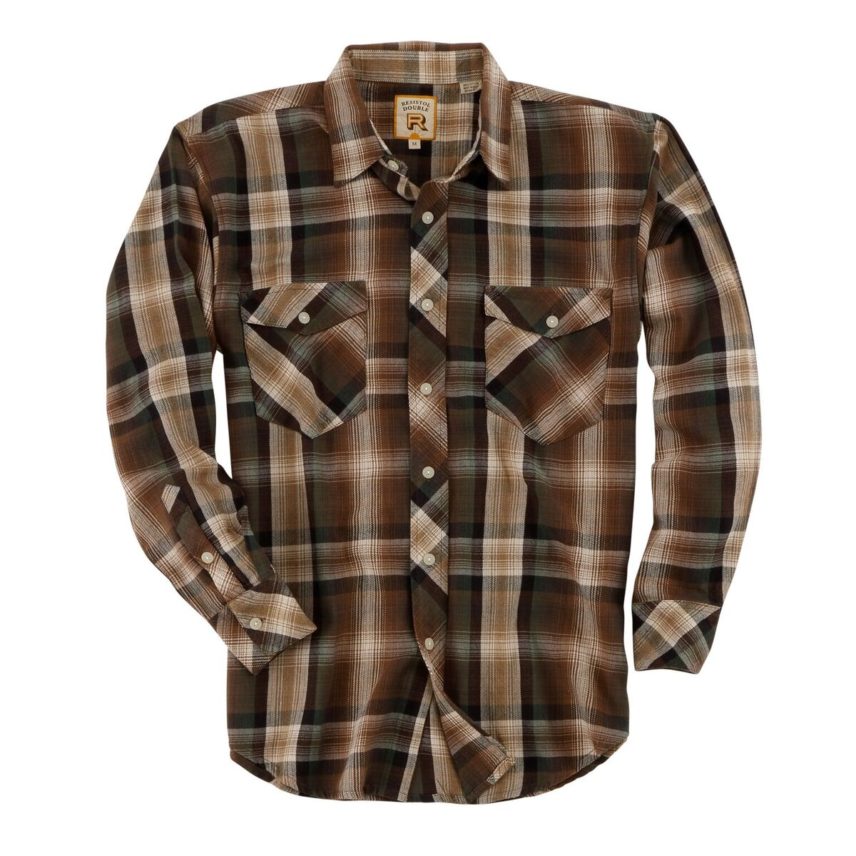 Men's Double R Tar-Hunt Plaid