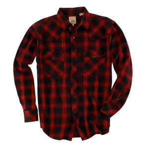Men's Double R Pintail Ombre Plaid