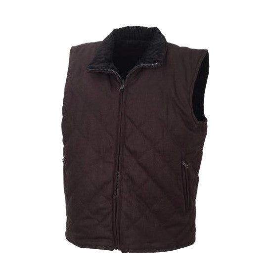 Resistol Double R Matthew Reversible Vest - Brown/Black