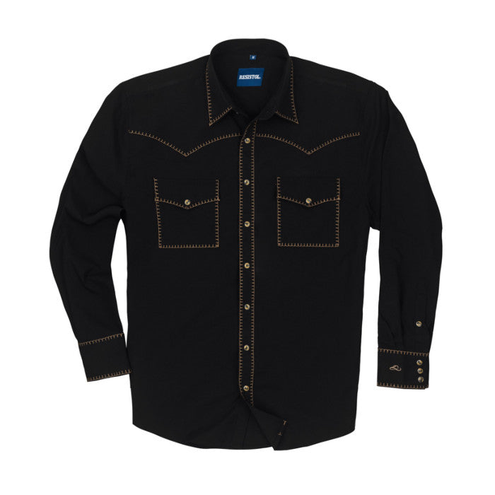 "Resistol ""Jett"" Retro Long Sleeve Shirt"