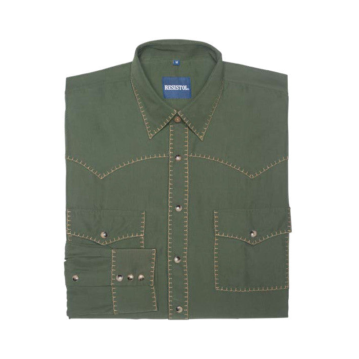 "Resistol ""Pine"" Retro Long Sleeve Shirt"