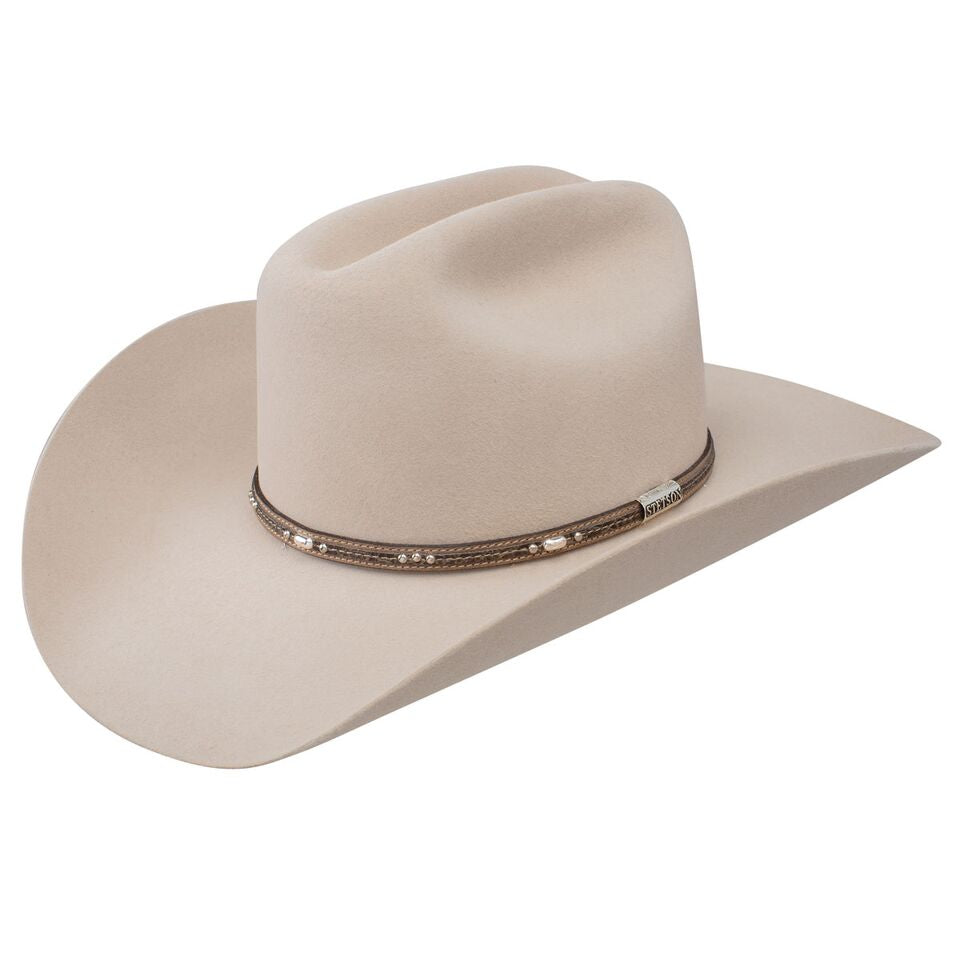 Stetson 6x Lakewood Felt Hat - Silverbelly