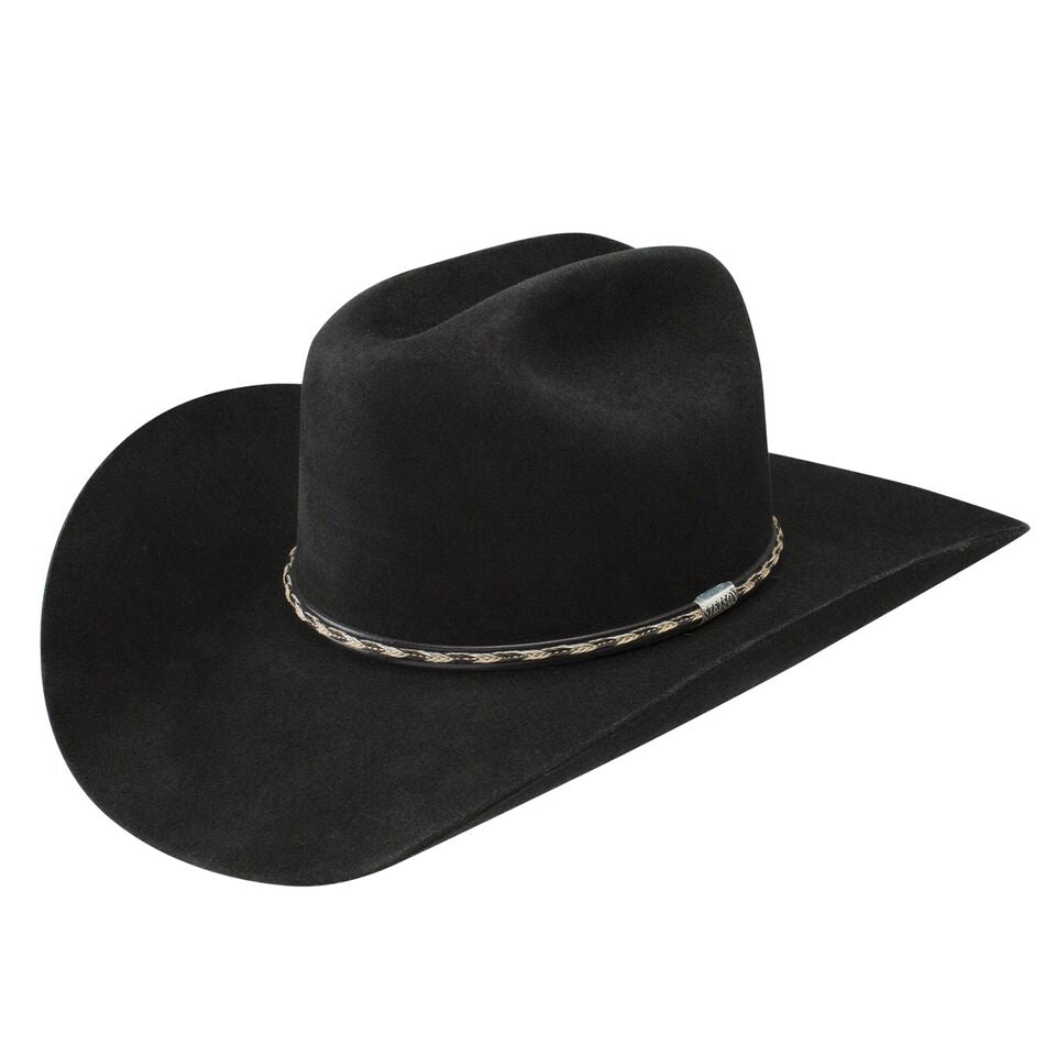Stetson 6x York Felt Hat - Black
