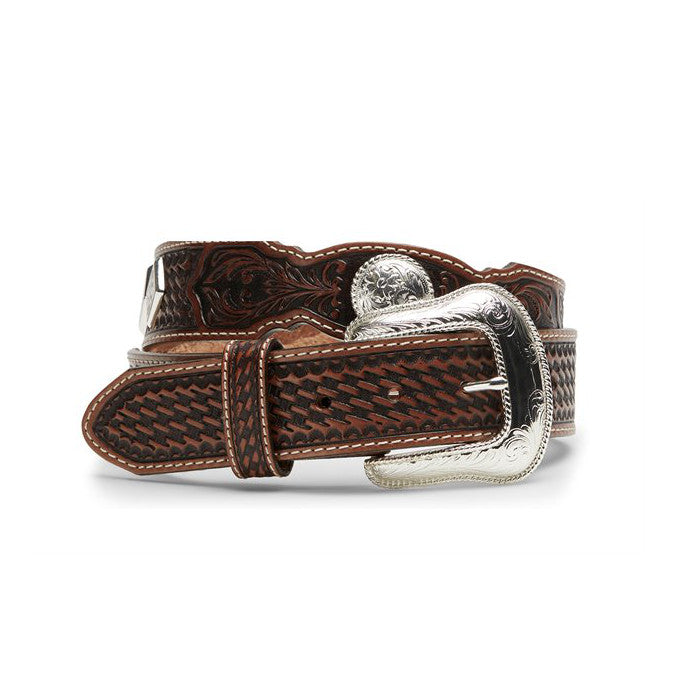 "Tony Lama C42464 ""Stillwater Creek"" Belt - Tan"