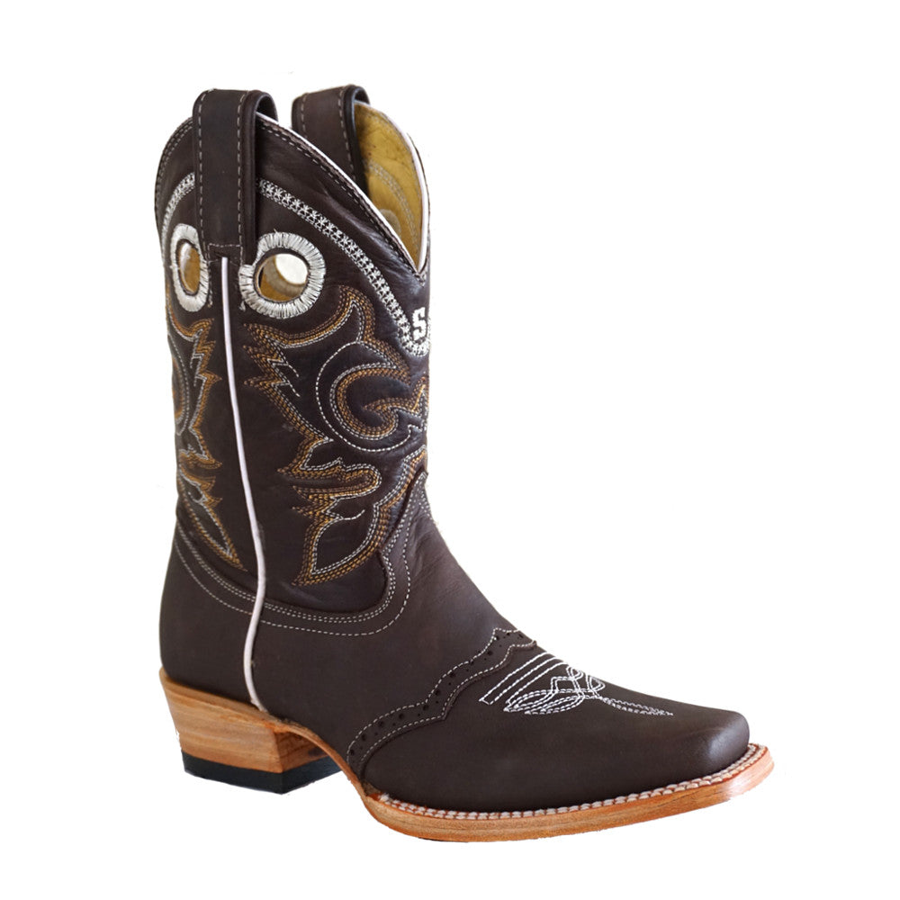 Stephy Boots 820 Choco Sin Ribete