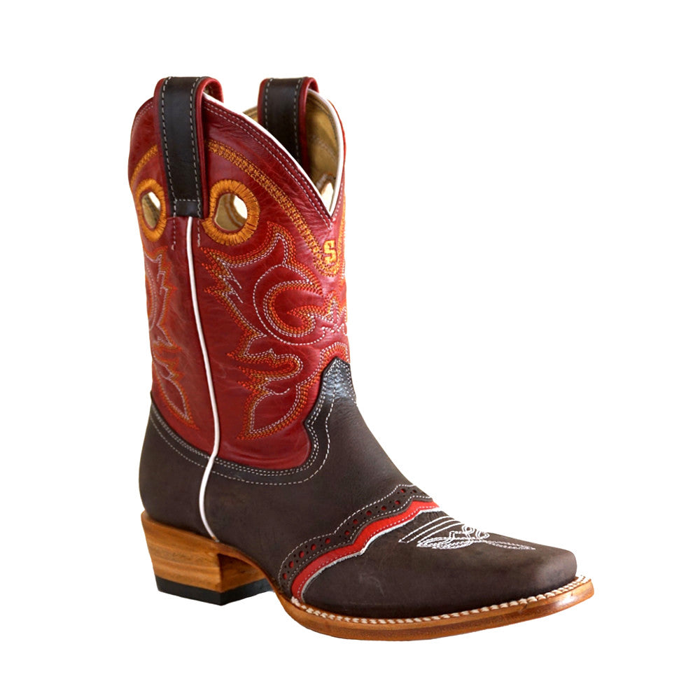 Stephy Boots 820 Ribete Rojo
