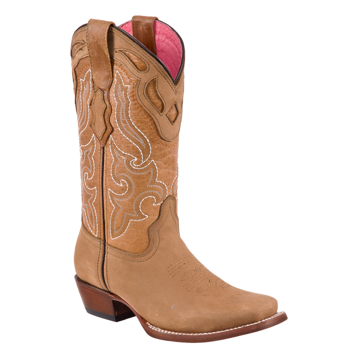 Potro Rebelde Tan Women's Rodeo Boot