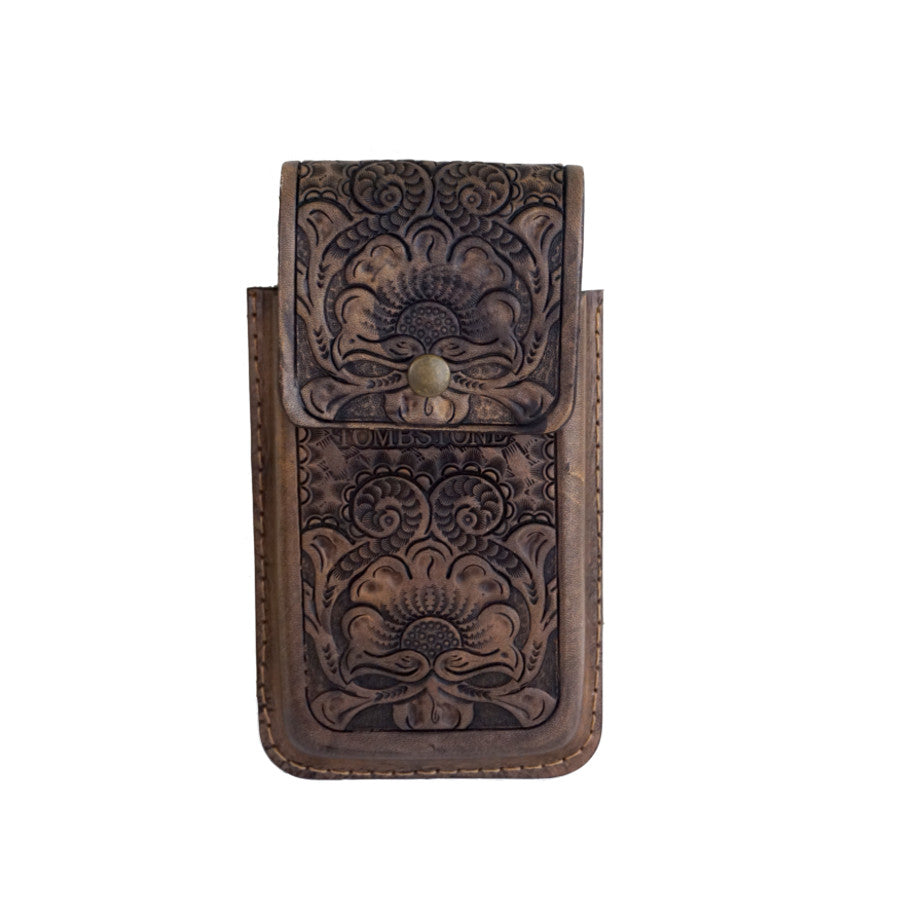 Tombstone Leather Cell Phone Cases