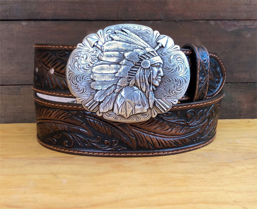 Tony Lama Women's Belt C13704 - Ol Chief